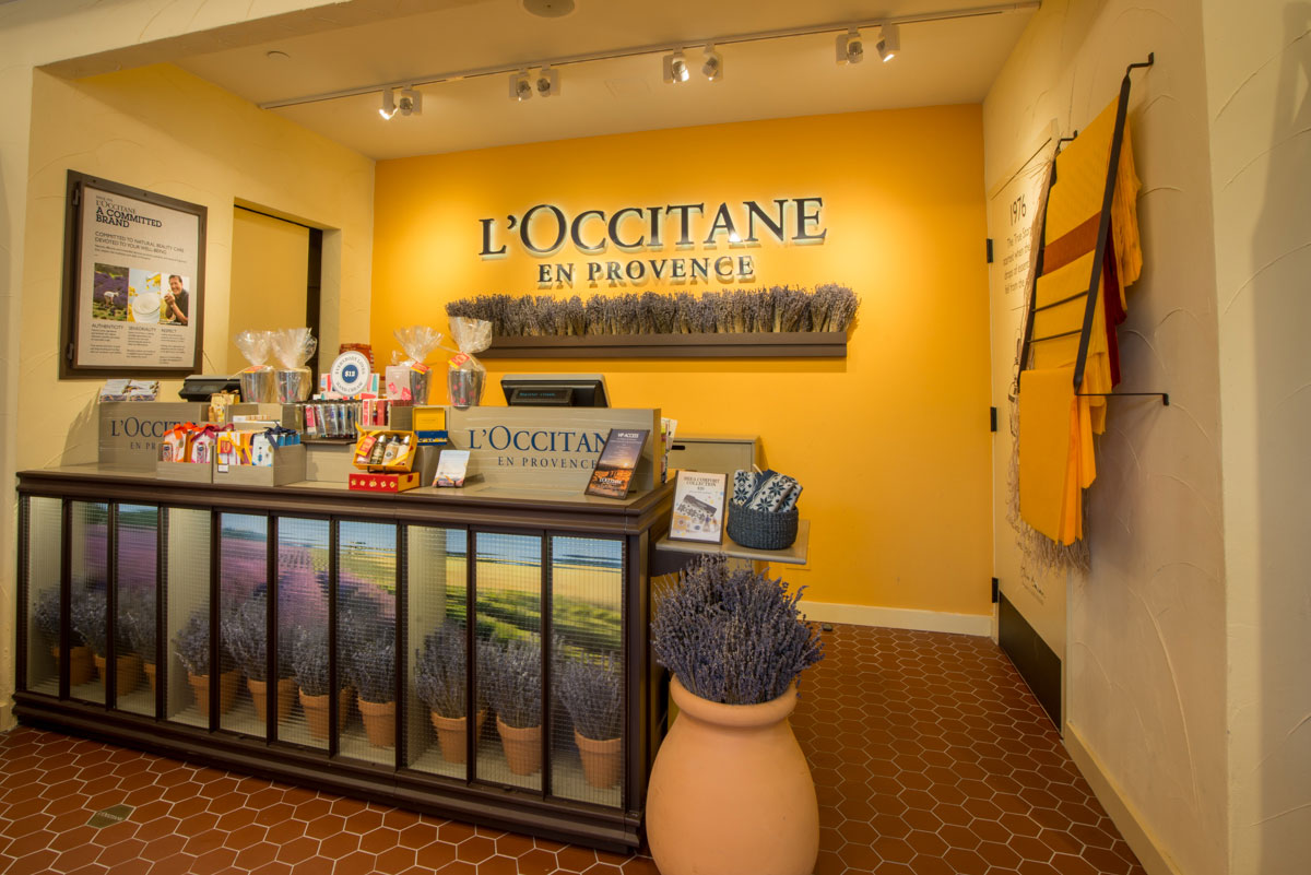 FIND YOUR NEAREST L'OCCITANE STORE If you need beauty advice or would like to try our products, we would be very happy to welcome you in our store.