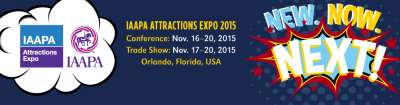 IAAPA  Attractions Expo: November 16th - 20th